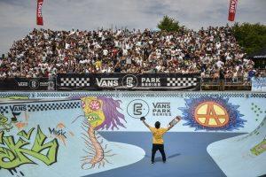 Pedro Barros no Vans Park Series