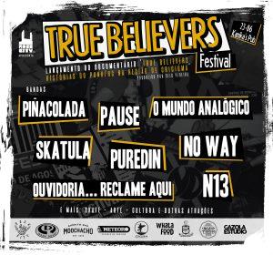 Lançamento do Documentário True Believers